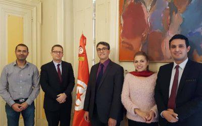 Réunion de travail avec le Consulat de Tunisie à Lyon