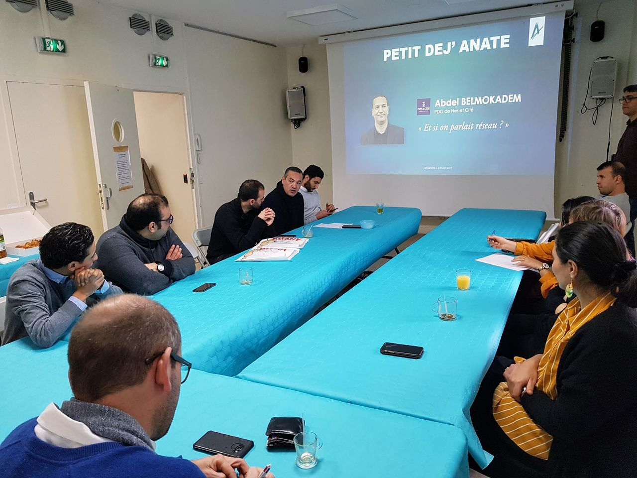 Petit Dej ANATE dimanche 6 janvier 2019